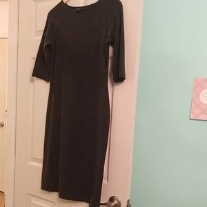 GAP grey stretch dress sz M great with leggings